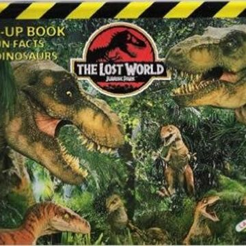 The Lost World Jurassic Park Pop Up Book Jurassic Park Wiki Fandom