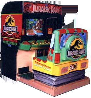 Jurassic Park (arcade game)