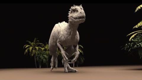 Jurassic World Indominus Rex Walk Cycle by ILM