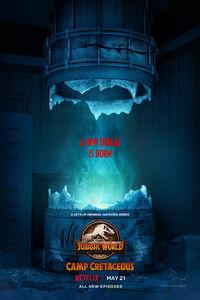 Jurassic World Colo du Crétacé Poster 4
