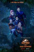 New Poster Camp Cretaceous Season 3