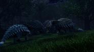 Ankylosaurus Herd (1)