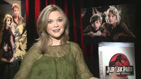 Jurassic Park - Ariana On Reading the Book - Own it on Blu-ray 10 25