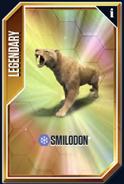 Smilodon New Card