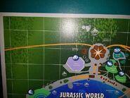 Jurassic world map tl