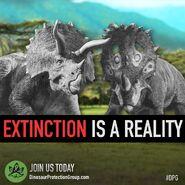 DPG - Extinction's reality