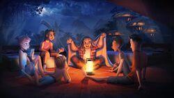 JW Camp Cretaceous Concept Art Campfire.jpg