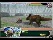 Jurassic Park- Dinosaur Battles Анкилозавр против Трицератопса