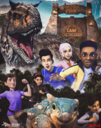 Jurassic World Camp Cretaceous characters poster