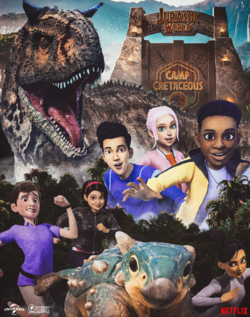 Jurassic World Camp Cretaceous characters poster.png