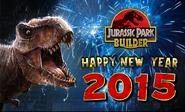 Jurassic Park Builder Happy New Year 2015