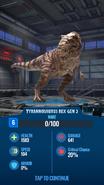 Gen 2 Tyrannosaurus JWA