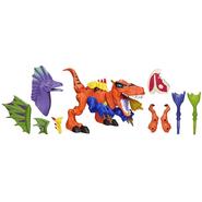 JW Hero Mashers Amargasaurus head toy