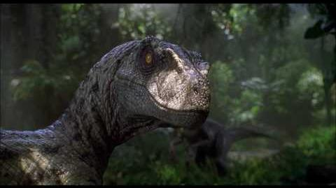 Jurassic Park 3 - Raptor chase Udesky's death scene (FullHD 1080p)