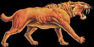 Smilodon sabertooth