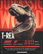 TyrannosaurusRexJurassicBattles