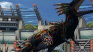 Yutyrannus (final evolution) battle