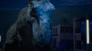 Rex vs hologram