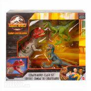 Ceratosaurus clash set