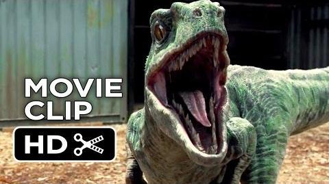 Jurassic World Movie CLIP - Raptor Paddock (2015) - Chris Pratt Dinosaur Adventure HD