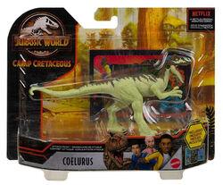 Jurassic world camp cretaceous Coelurus.jpg