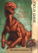 2001 Jurassic Park III 3-D 68 Muttaburrasaurus front
