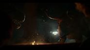 Bull and Allo standoff