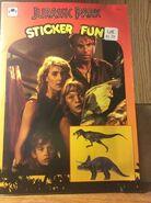 Jurassic Park Sticker Fun 1