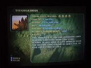 Stegosaurus info