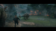 Owen and dead carno in a stampede