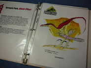 A raptor's razor claws, jagged spells and the flight capability of the Archaeopteryx combine