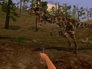 Albertosaurus Trespasser