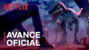 Jurassic World Campamento Cretácico Avance oficial Netflix
