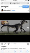 Indoraptor Concept Art 21