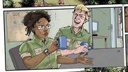 Устрашающий Рев - анимационный комикс Мир Юрского Периода