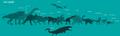 17 species of Jurassic World website