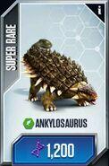 Jurassic World- The Game Анкилозавр