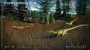 Jurassic World Evolution 2 Coelophysis pack