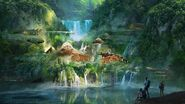 Camp Cretaceous Lodge Concept Art 16