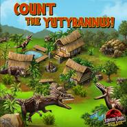 Count the Yutyrannus!