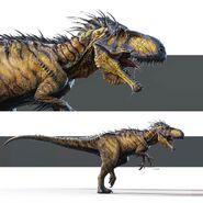 Early-Indominus-Rex