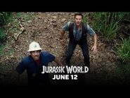 "Jurassic World - Clip- ""Owen Escapes the Indominus Rex Paddock"" (HD)"