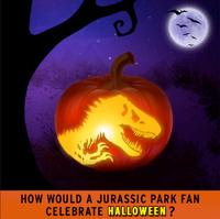 Celebrate Halloween for Jurassic Park