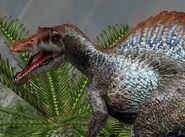 Spinosaurus Roaring