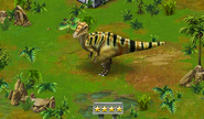 Jurassic Park Builder Эдмонтозавр