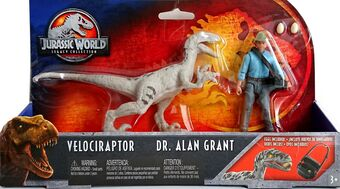 Jurassic Park  Dr Alan Grant and Velociraptor