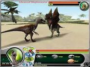 Jurassic Park- Dinosaur Battles Велоцираптор против Дилофозавра