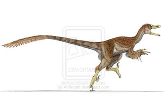 Velociraptor in color by Ahrkeath.jpg