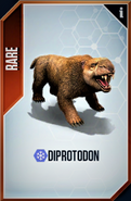 Diprotodon Card