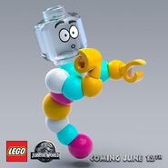 LEGO Jurassic World Mr. DNA